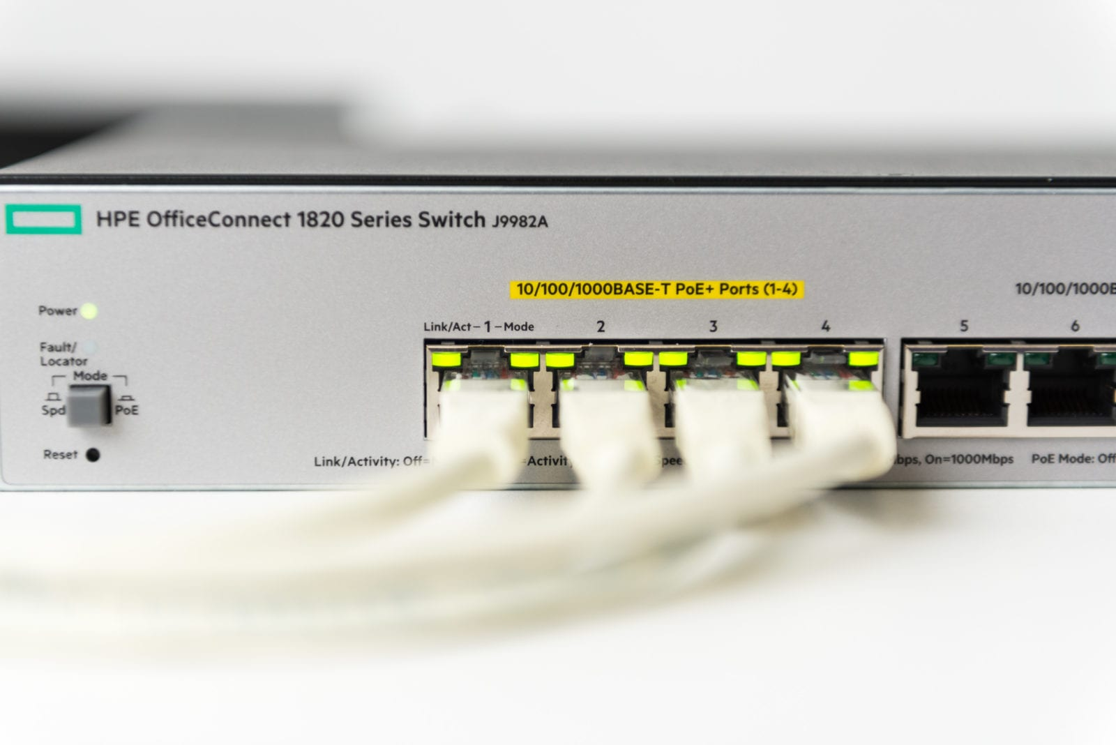 stabiel netwerk HPE Office connect switch