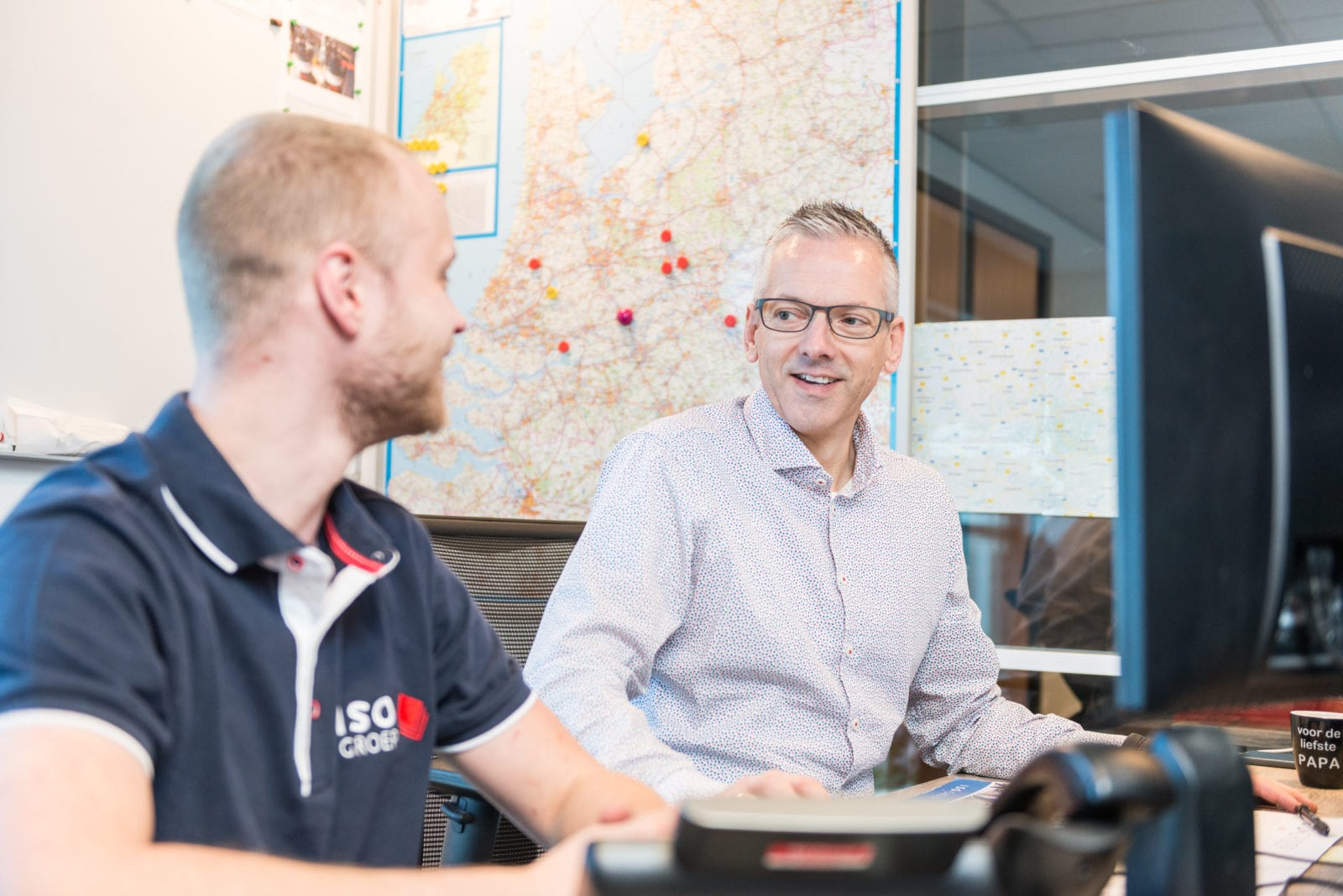 landkaart ISO Groep planning