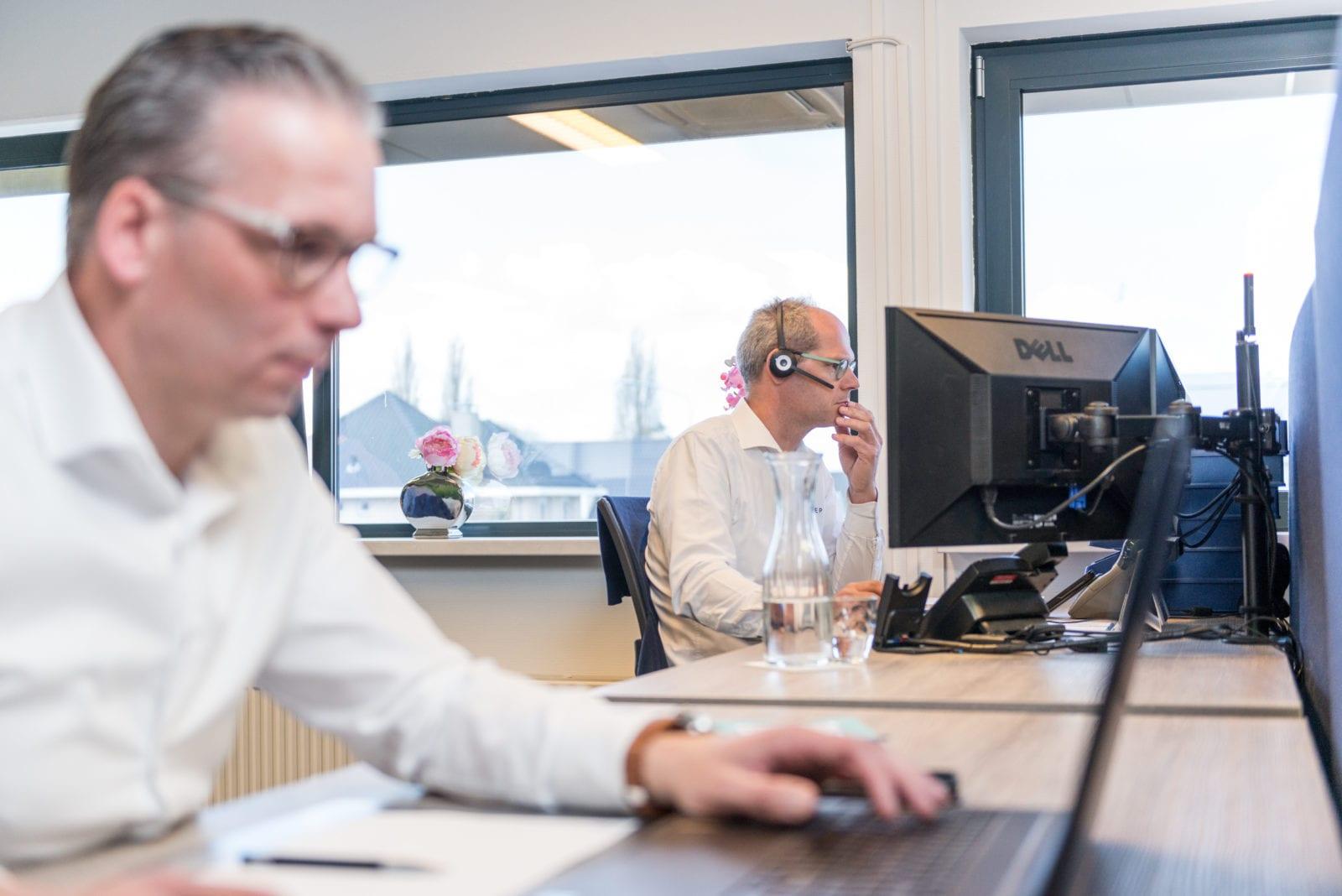 vaste-mobiel werkplek ISO Groep