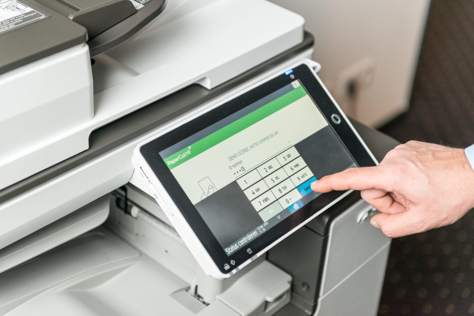 PaperCut beveiligd printen
