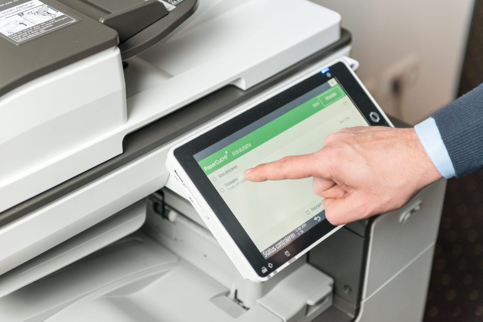 Kyocera software follow me printing voor non-profit toepassingen