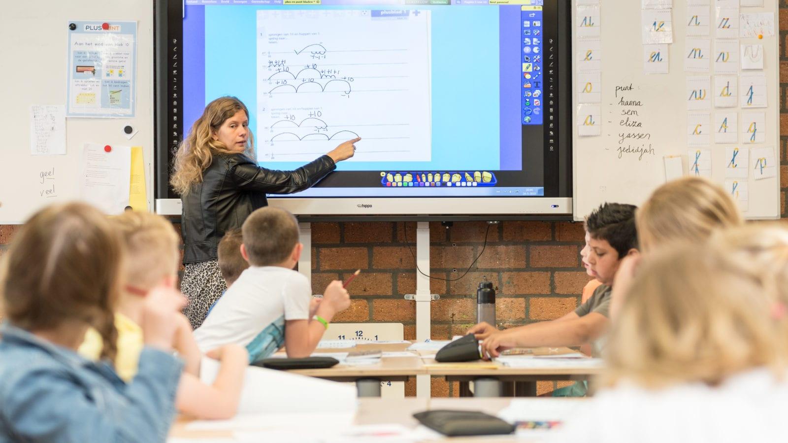 touchscreens en digiborden voor scholen