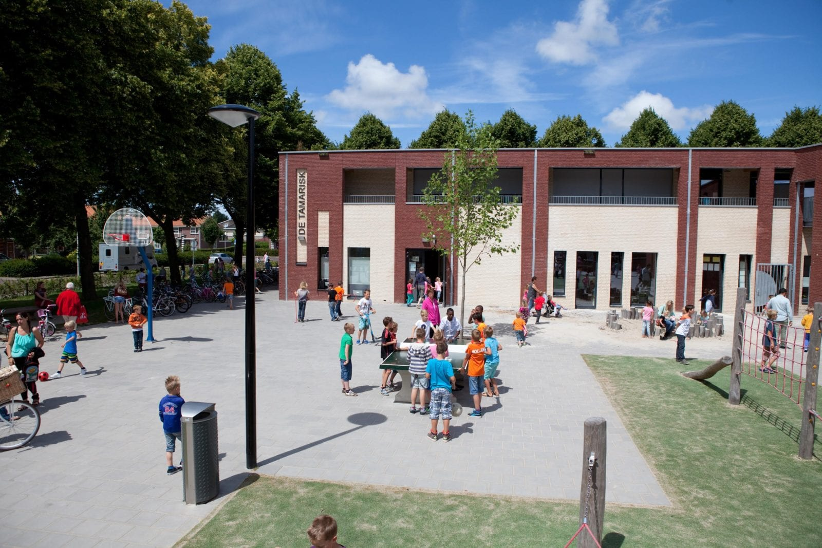 Codenz schoolplein