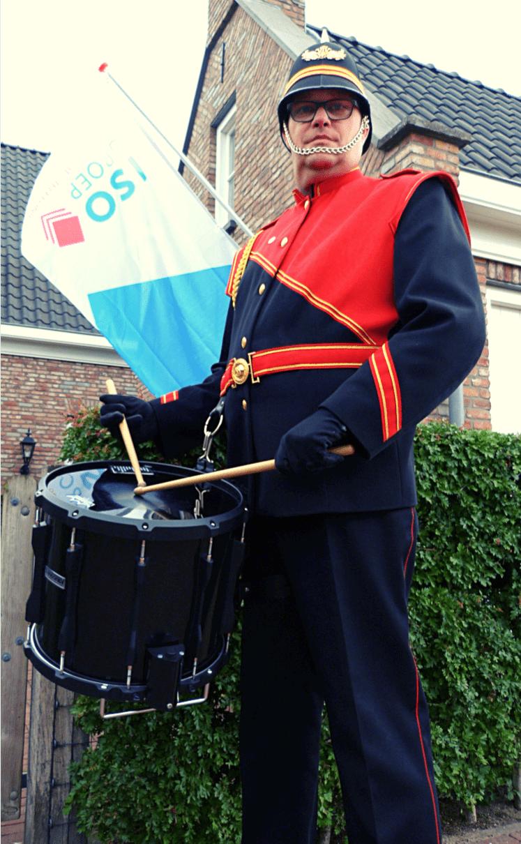 Machiel den Otter van Drumband Zuilichem