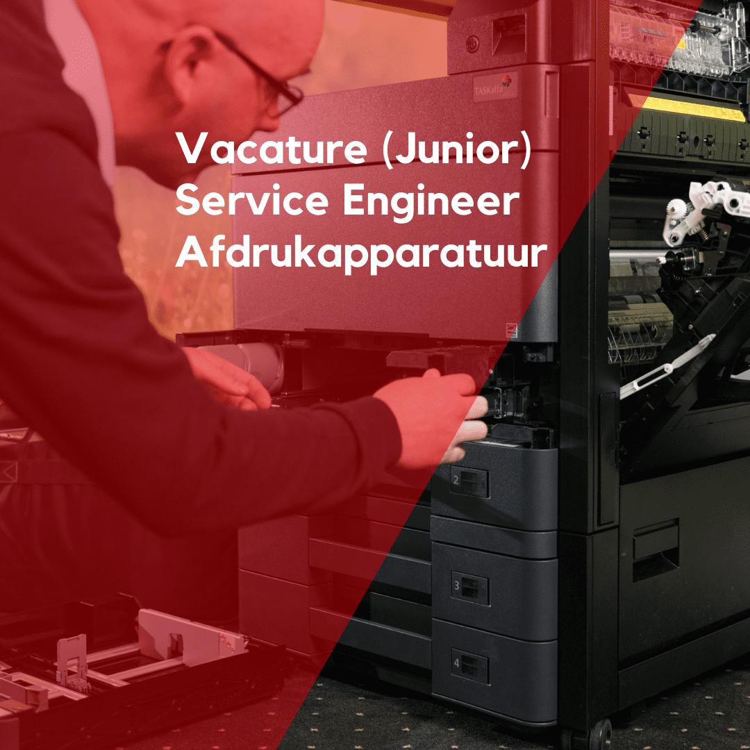 vacature ISO GROEP junior service engineer afdrukapparatuur